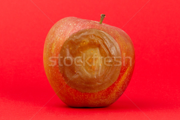 One bad red apple isolated Stock photo © michaklootwijk