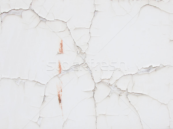 White wall with cracks Stock photo © michaklootwijk