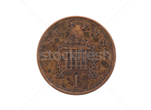 Old penny coin isolated Stock photo © michaklootwijk