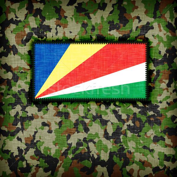 равномерный Сейшельские острова флаг текстуры аннотация Сток-фото © michaklootwijk