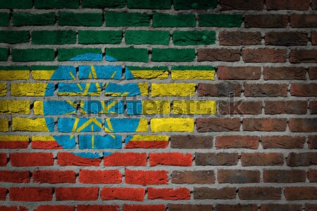 Dark brick wall - LGBT rights - Ethiopia Stock photo © michaklootwijk