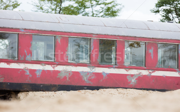 Old train carriage Stock photo © michaklootwijk