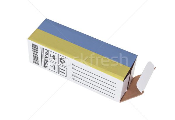 Exporteren product Nederland papier vak Stockfoto © michaklootwijk