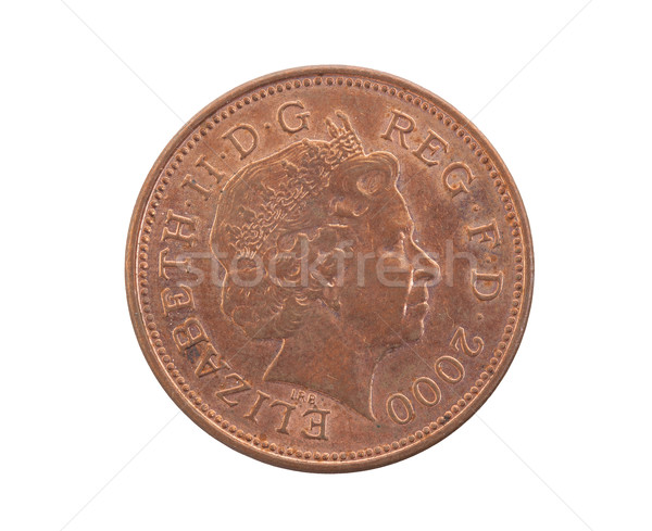 Two Pence coin isolated  Stock photo © michaklootwijk