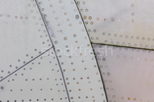 кусок самолета Гранж металл старые Сток-фото © michaklootwijk