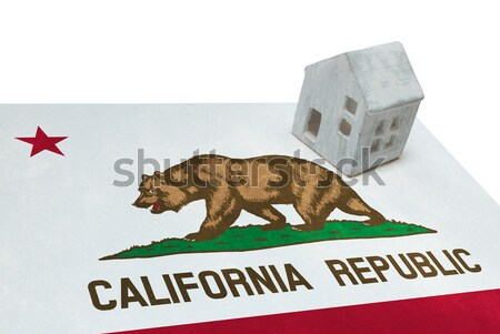 плачу женщину более горе флаг Калифорния Сток-фото © michaklootwijk