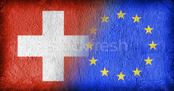 Switzerland and the EU Stock photo © michaklootwijk