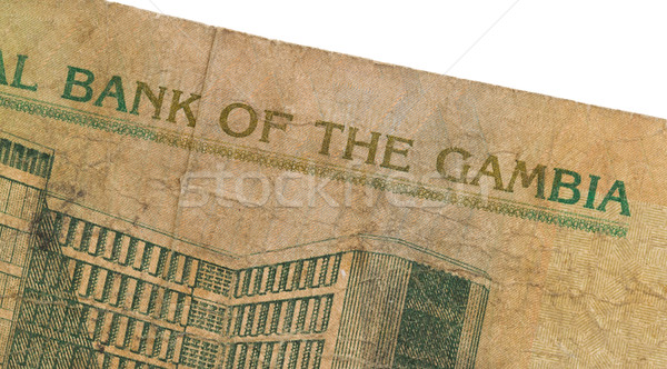 10 Gambian dalasi bank note Stock photo © michaklootwijk