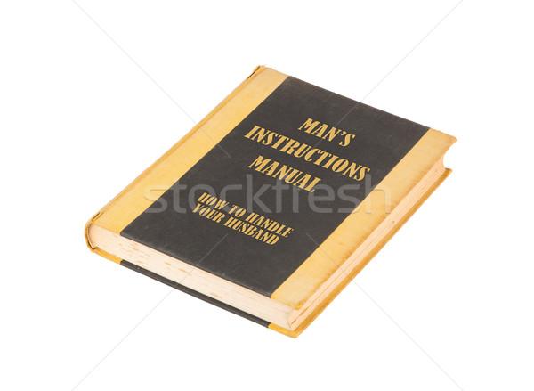 Starej książki tytuł biały projektu tle Zdjęcia stock © michaklootwijk
