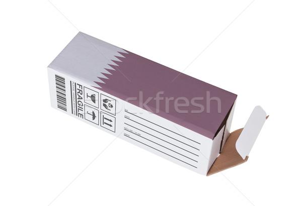экспорт продукт Катар бумаги окна Сток-фото © michaklootwijk