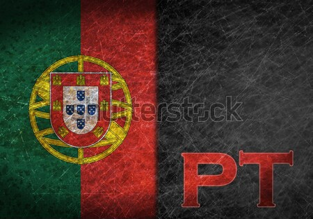 Flag burning - Portugal Stock photo © michaklootwijk