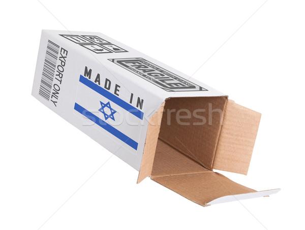 Exportar producto Israel papel cuadro Foto stock © michaklootwijk