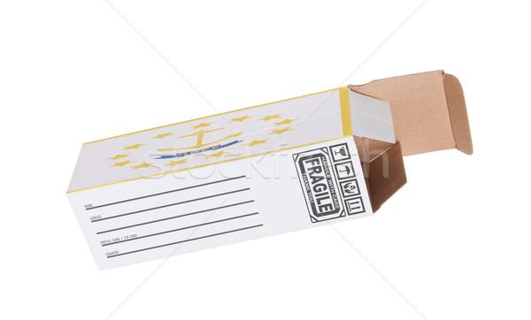 Ihracat ürün Rhode Island kâğıt kutu Stok fotoğraf © michaklootwijk