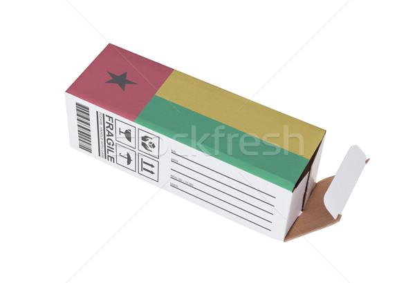Concept of export - Product of Guinea Bissau Stock photo © michaklootwijk