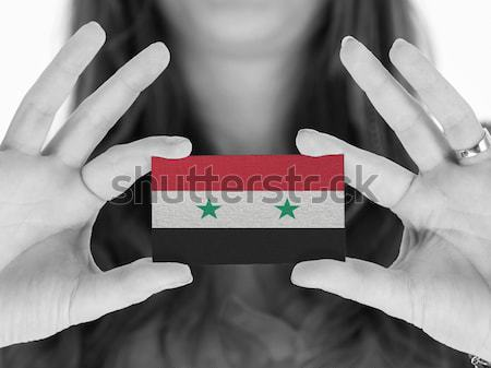 Flag on keyboard Stock photo © michaklootwijk