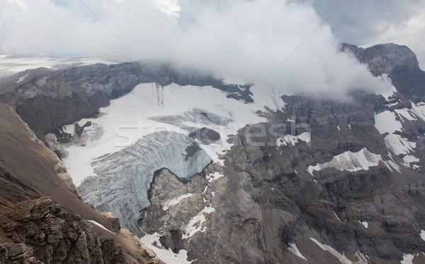 View ghiacciaio acqua ghiaccio cascata montagna Foto d'archivio © michaklootwijk