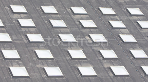 Stock photo: Roof window square cells