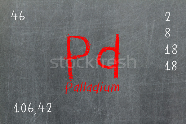 Yalıtılmış tahta okul dizayn eğitim Stok fotoğraf © michaklootwijk