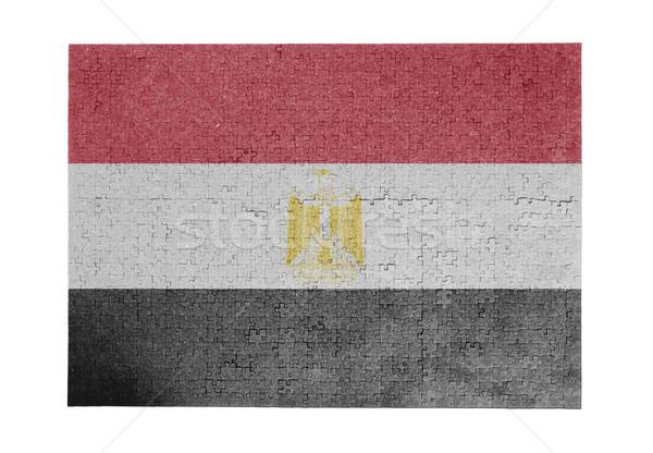 1000 sztuk Egipt banderą Zdjęcia stock © michaklootwijk