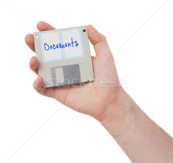Floppy disk, data storage support  Stock photo © michaklootwijk
