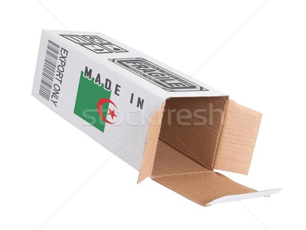 Eksport produktu Algieria papieru polu Zdjęcia stock © michaklootwijk