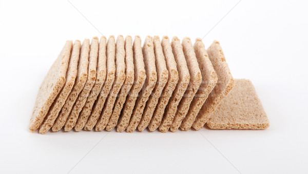 Crackers (breakfast) isolated Stock photo © michaklootwijk