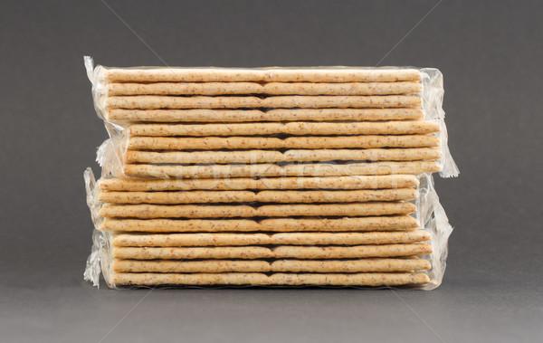 Crackers in plastic Stock photo © michaklootwijk