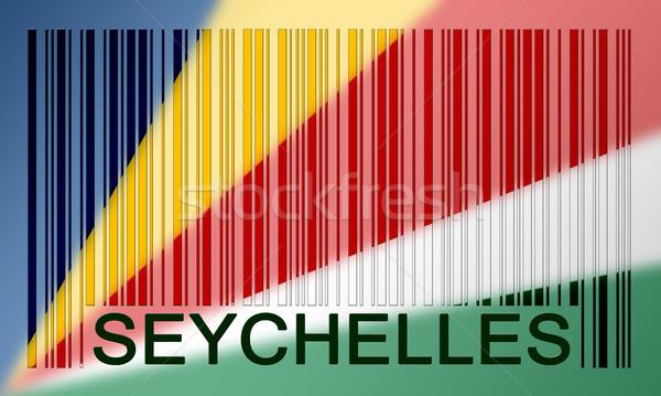 Barcode flag Stock photo © michaklootwijk