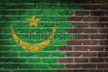 Dark brick wall - LGBT rights - Mauritania Stock photo © michaklootwijk