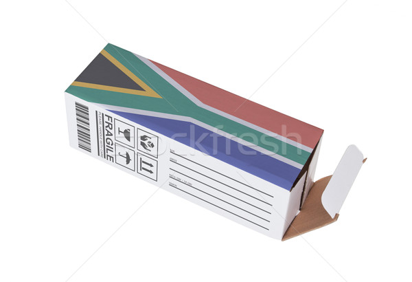 Concept of export - Product of South Africa Stock photo © michaklootwijk