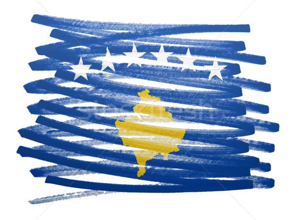 Flag illustration - Kosovo Stock photo © michaklootwijk