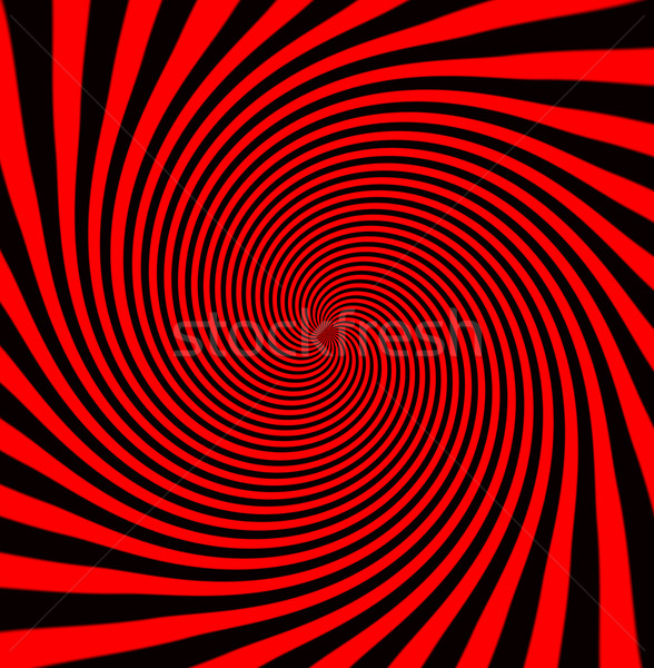 Zonnestralen alle Rood zwarte zon Stockfoto © michaklootwijk