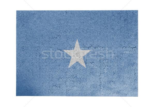 1000 sztuk Somali banderą Zdjęcia stock © michaklootwijk