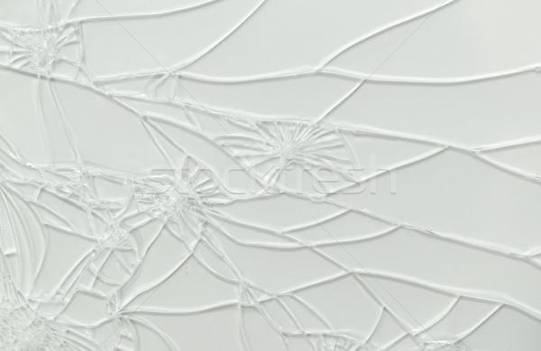 Broken glass of smartphone Stock photo © michaklootwijk