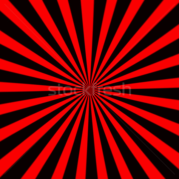 Kostium czerwony czarny słońce Zdjęcia stock © michaklootwijk