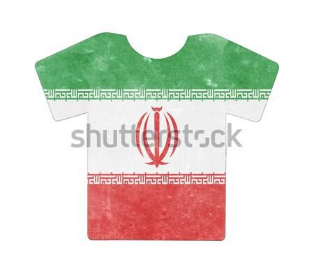Flag burning - Iran Stock photo © michaklootwijk