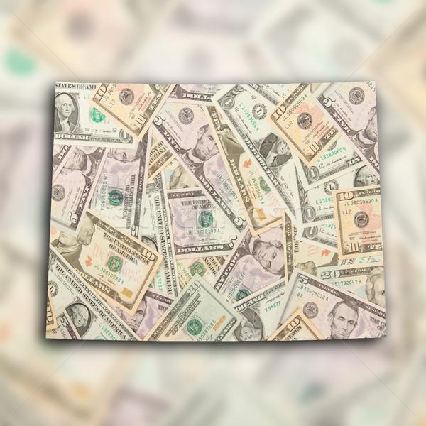 Harita Wyoming çok dolar finanse İskoçya Stok fotoğraf © michaklootwijk