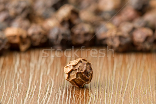 Black pepper isolated Stock photo © michaklootwijk