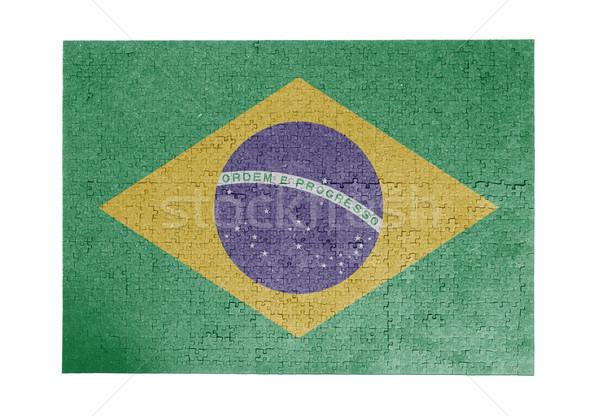 1000 sztuk Brazylia banderą Zdjęcia stock © michaklootwijk