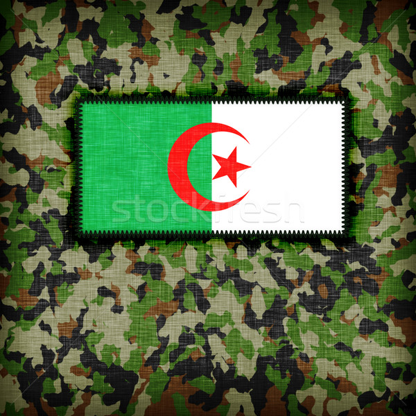 Amy camouflage uniform, Algeria Stock photo © michaklootwijk
