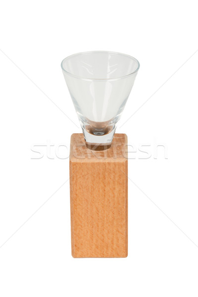 Very old drinking glass, isolated Stock photo © michaklootwijk