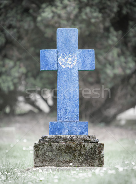 Gravestone in the cemetery - United Nations Stock photo © michaklootwijk