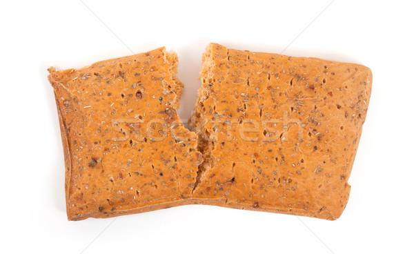 Focaccia bread isolated Stock photo © michaklootwijk