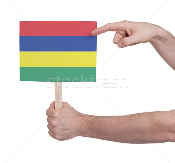 стороны небольшой карт флаг Маврикий Сток-фото © michaklootwijk