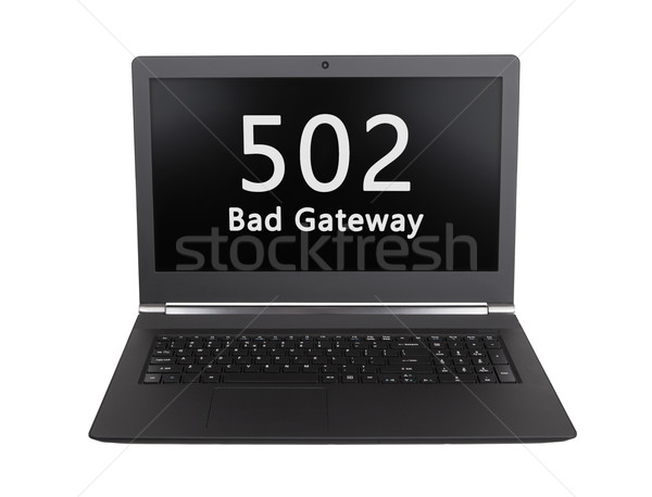 HTTP Status code - 502, Bad Gateway Stock photo © michaklootwijk