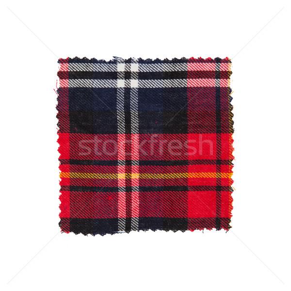 Scottish checked fabric Stock photo © michaklootwijk