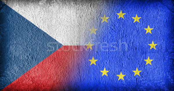 Czech Republic and the EU Stock photo © michaklootwijk
