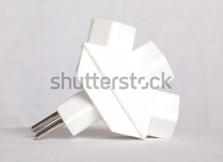 International AC power plug socket, Switzerland Stock photo © michaklootwijk