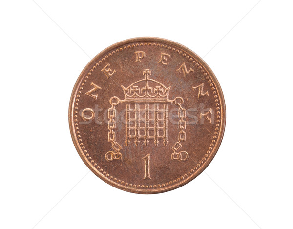 Penny coin isolated Stock photo © michaklootwijk