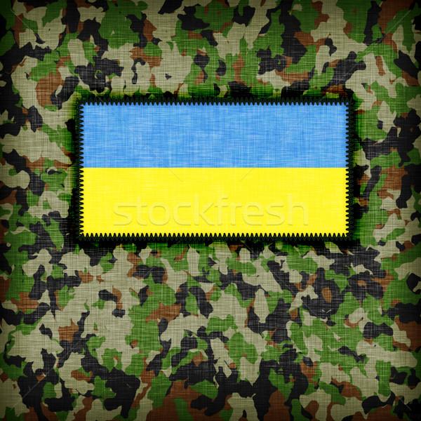 Amy camouflage uniform, Ukraine Stock photo © michaklootwijk
